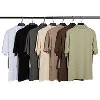 2021 FWS 봄 여름 힙합 앞 실리콘 남성용 티셔츠 스케이트 보드 티셔츠 남성 여성 반팔 캐주얼 T 셔츠 JH454
