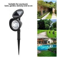 Çimen ışık yolu 4LED güneş enerjili IP44 su geçirmez açık lamba manzara aydınlatma dekorasyon bahçe ışıkları süslemeleri