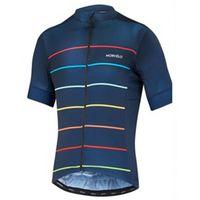 Morvelo Takım Yaz Bisiklet Jersey Erkek Kısa Kollu MTB Gömlek Dağ Bisiklet Giyim Maillot Ropa Ciclismo Yarış Bisiklet Giysileri Y21052702
