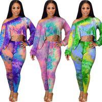 Women summer 2 piece pants sexy & club tracksuit sportswear sweatsuit outfits crop top leggings hoodies bodysuit sell