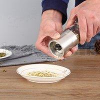 Moinhos de pimenta manual Moedor de aço inoxidável sal Muller Home Spice Molho Pepper Moedores Cozinha Cyz3161
