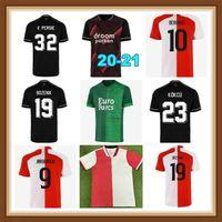 21 22 Home Away Hommes S-2XL Vert V. Perse Soccer Jerseys Toornstra Jorgensen Shirts de football Vilhena Clasie Larsson Berghuis ème Uniformes