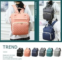 Diaper Bags Mummy Maternity Nappy Backpack Waterproof Large Capacity Multi-function Outdoor Travel For Baby Care