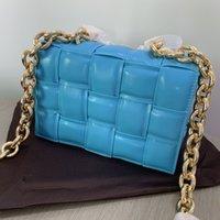 2021 cuscino classico cuscino a tracolla borse Lady designer di alta qualità lussuoso donne plaid plaid imbottito moda messenger borse borse borse a tracolla frizione shopping bag