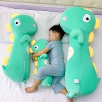 Baby pillow sleeping holding artifact baby special plush toy lovely gift for girlfriend dinosaur doll