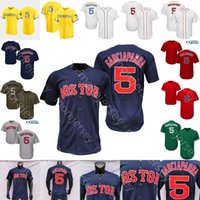 Nomar Garciarra Jersey يوم الأب 2021 City Connect Gray Navy Navy Red Gars Player Green Salute To Service Size S-3XL