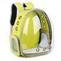 Carrier de mascotas Burbuja Mochila Mascotas Mascotas Bolsas de viaje para perros o gatos Aerolínea aprobada por el agua A prueba de agua Transpiradores transpirables, cajas