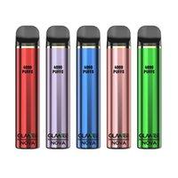 Authentische Glameglamee Nova-Einweg-Pod-Gerät E-Zigaretten-Vape-Pen-Kit 4000Puffs 2200mAh 16ml glänzendem Metallkörper 1pc ein Packung