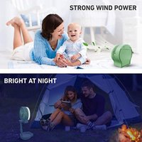 Electric Fans Portable Fan Mini Desktop With Battery Bright Quiet Operation USB 3 Speed Foldable Cable Powered Dropship