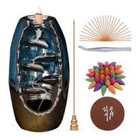 FRAGRANCE Lampes XCG 120 Cône Creative Home Décoration De Chef de Chef de Cheveux Encens Burneur Céramique Yoga Tea Salle de thé