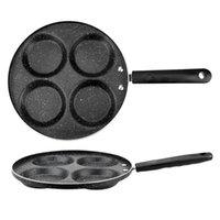 No Oil-smoke 4 5 7-hole Frying Pot Non-stick Egg Pancake Steak Pan Cooking Ham Pans Thickened Omelet Breakfast Maker