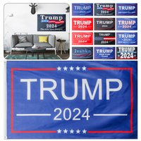 New 3x5 Feet Trump 2024 Flag Take America Back Flag Banner with Two Brass Grommets for Interior and Exterior Home Decoration