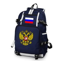 Россия Eagle рюкзак русский напечатанный напечатанный спортивный спорт Открытый альпинизм туризм лазания