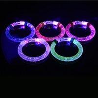 Giocattoli per bambini Wholale LED Braccialetto luminoso Braccialetto Luminoso Concerto Perline perline Flash Bubble e BUBBL Interactive2PK2