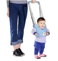 Bebé Aprendiendo Cinturón Caminando Bebé Walker Cuerdas para niños Niño Girl Girl Walk Paseo Anti-Otoño Cinturón Dual Uso para niños Tracción de la cuerda Artefacto 2081 Q2
