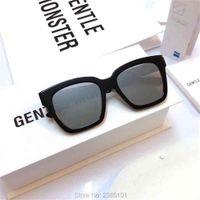 Gafas de sol de moda Vintage Acetato Polarizado Marca coreana suave Sol Myopia Lente Driving Gafas de pesca para hombres mujeres con estuche