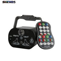 SHEHDS High Quality Lighting Charged Mini USB 60 Laser Lamp Professional Stage Light For Night Clubs Disco Hotels Shops Party