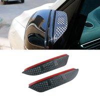 For Mercedes-Benz A-Class 2004-2021 W169 W176 W177 Car Stickers Side Rearview Mirror Rain Eyebrow Visor Sun Shade Guard Auto Accessories