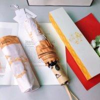 Vários estilos Resistente ao vento Guarda-chuva de dobramento Homens Mulheres luxuoso Designer romântico grande guarda-chuvas impermeáveis revestimento preto 8 BRAIBS PARasol DG