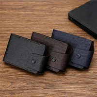 Card Holders Brand Organ Holder Unisex Leather Wallet Business Coin Purse