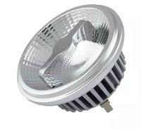 전구 12V GU10 G53 AR111 라이트 LED 12W 15W 스포트 라이트 QR111 ES111 반사경 램프 눈부심 방지 디자인 AC85-265V