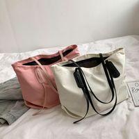 Tote Bag Women's Large Capacity Shoulder Designer Fashion Nylon Oxford Cloth Portable Shopping RD7E