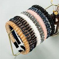Fashion Women's Hair Accessories Crystal Headband Shining Handmade Bead winding Hairband