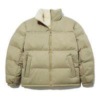 Mens Stylist Coat letter Printing cotton Winter Jackets Men Women reversible Overcoat fleece Jacket Size M-2XL JK2109