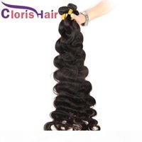 Необработанные человеческие волосы для волос 1 3 связки кузова волна бразильского перуанского малайзийских индийских наращиваний девственницы длинные 30 32 34 36 38 40 дюймов