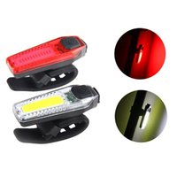 Bike Lights USB Charging Bicycle LED Waterproof Taillight Rainy Day Night Ride Safety Warning Light Cycling Equipment