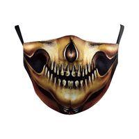 Máscara de Halloween Palhaço Pirata Abóbora Fantasma Elemento Máscara Respirável e Powerproof Life Aourmuff