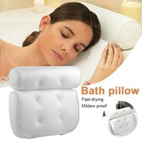 Bathroom Sucker Pillow Spa 3d Mesh Bath Suitable For All Bathtubs And Family Spas Fast Delivery Dropshipp Accessory Set