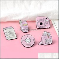 Novelty Items Décor Home & Garden Girl Cartoon Brooch Daily Necessities Books Bags Dvd Mobile Metal Badge Jewelry Decor Hard Enamel Pin Hat