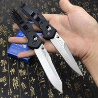 Benchmade knife BM 940 d2 Blade Folding Knife Nylon glass fiber handle Copper washer EDC Pocket Knife camping Survival Multi-function Knives