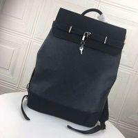Знаменитый пароход рюкзак Классические кожаные сумки для путешествий мода бизнес сумка ноутбука сумка школьная сумка M44052 Размер: 32 x 45 x 16см