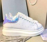 Tenis zapatillas de deporte de alta calidad zapatos casuales blancos para mujeres hombres de encaje de lujo diseñador de lujo zapatos hombres pareja zapato