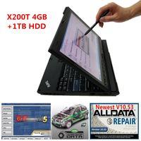 AllData Oto Tamir Aracı Tüm Veri 10.53 ve ATSG 3in1 Yazılımı X200T Dizüstü Bilgisayar Dokunmatik Ekran Bilgisayarında Kurulu 1TB HDD ile Yazılım Kullanıma hazır