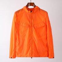 윈드 브레이커 스웨트 탑스 니 망 재킷 사이버 펑크 캐주얼 스트리트웨어 회사 지퍼 야외 후드 망 코트 3 색 아시아 크기 M-XXL