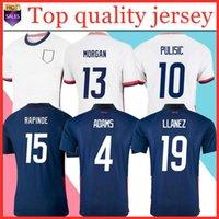 2021 Sexcer Soccer Jersey 20 21 Dempsey Morgan Rapinoe Lloyd Ertz America Man Kid Kit قمصان كرة القدم