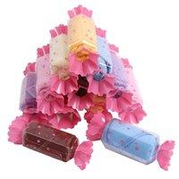 Jul barnkaka handduk blomma kreativ lollipop godis gåva