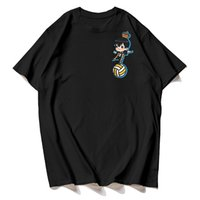 Harajuku Kageyama - Haikyuu !! Anime T-Shirt Sözlük T Gömlek Rahat Moda Top Tees Aile Ürünü