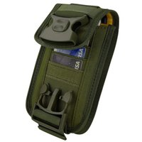 Tactical Molle Phone Holster Outdoor Gürtel Taschen Taschen Utility Weste Karten Carrier Bag Mini Multifunktions-Reisetasche Pack EDC-Beutel