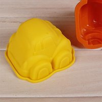 Cute Car Shaped Silicone Cake Mold DIY Baking Pan Handmade Soap Mold Cake Decorating Tools Muffin Mold Chocolate Mould LLE6348