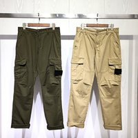 21FW Topstoney Multi-poche Habitudes Ashion Hombre Mode Pantalon imprimé de luxe Casual Street Pantalons Designers de luxe