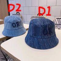 Bucket Hat Denim Bonnet Womens Mens Designer Benna Cappelli Fashion Designers Caps Cappelli Cappelli da donna Casquette 202105281xv