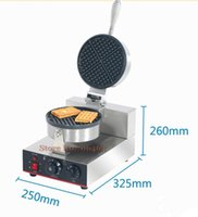 High Quality Electrical Waffle Maker 180 Degree Rotating Stainless Steel Machine Bread Makers