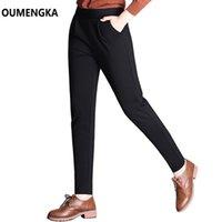 Women's Pants & Capris Autumn Winter Ladies Korean High Waist Harem Women Casual Pencil Simple Trousers Plus Size S-6XL