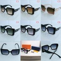 Men designer sunglasses mens sunglass for women eyeglass L luxury brand eyeglasses anti UV high quality Fashion style 6014 model glasses 6 colors choose