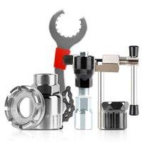 Multifunktionale Fahrrad-Reparaturwerkzeug-Kits-Kettenbrecher-Schwungradentferner Kurbel-Puller-Schlüssel MTB-Rennrad-Wartungswerkzeuge Auto