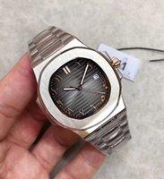 Мужская античная к виду мужской часы PP 2021 арабские цифры циферблат серый синий черный белый кофе 40 мм автоматическое оборудование 324 роскошный дизайн оптом и в розницу
